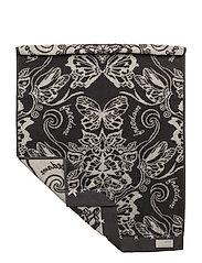 daybreak butterfly bath towel - ASPHALT