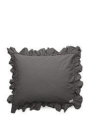good night pillow case - MID GREY