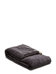 on top double bedspread - ASPHALT