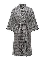 cozy bathrobe - ASPHALT