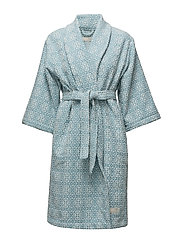 cozy bathrobe - TURQUOISE