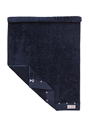 sunday morning hand towel - MID INDIGO