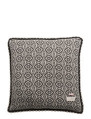 lovely knit cushion cover - ASPHALT
