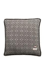 lovely knit cushion cover - ASPHALT