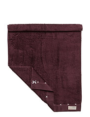 sunday morning hand towel - GRAPE