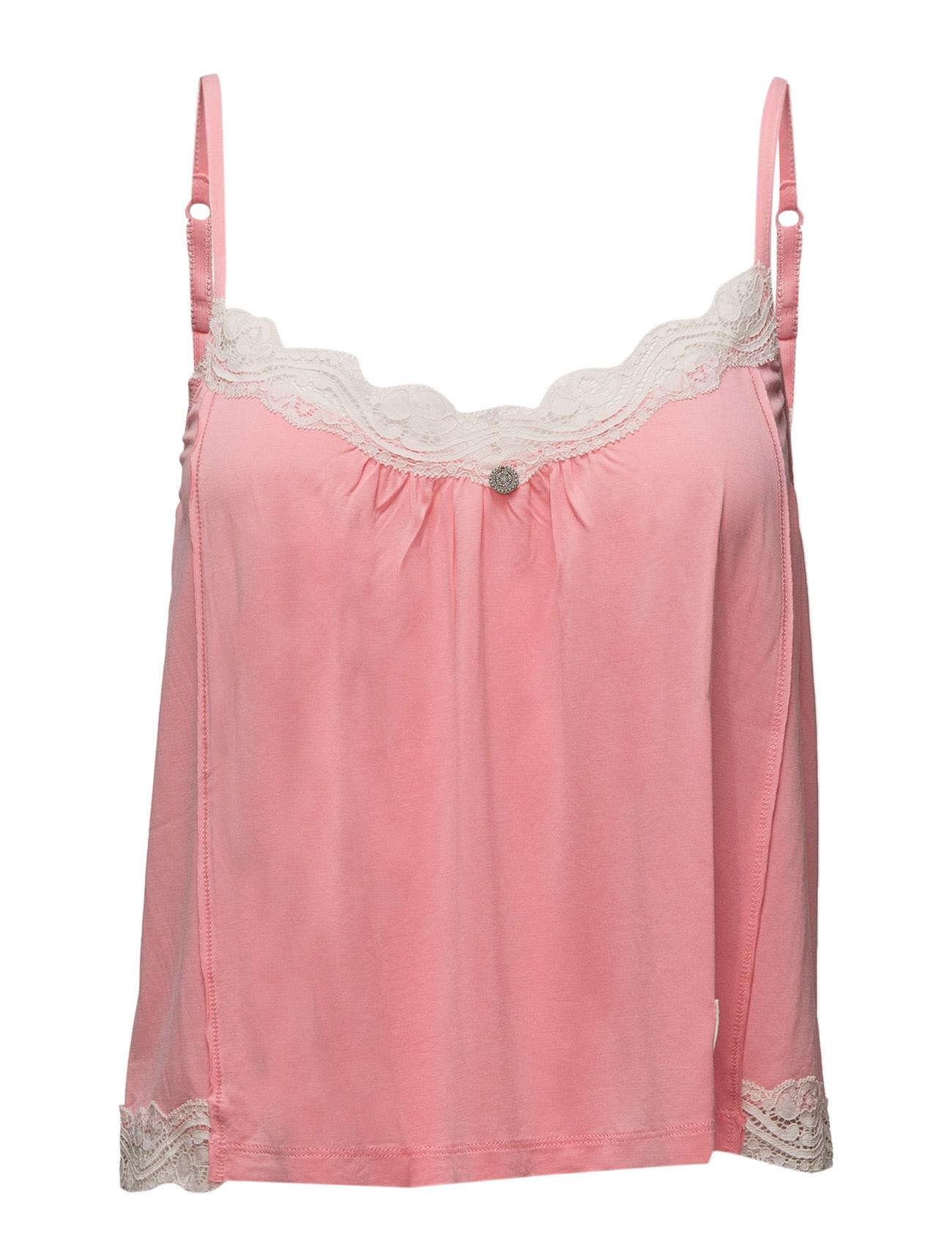 Cheery Slip Tank ODD MOLLY UNDERWEAR & SWIMWEAR Loungewear til Kvinder i Næsten Sort