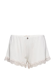 cheery shorts - LIGHT CHALK