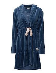 myself bathrobe - INDIGO
