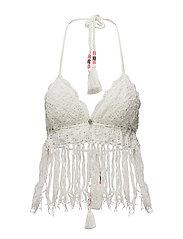 beach party bikini top - LIGHT PORCELAIN