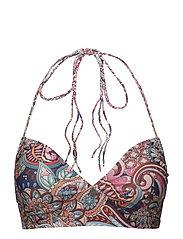 lakeside bikini top - MULTI