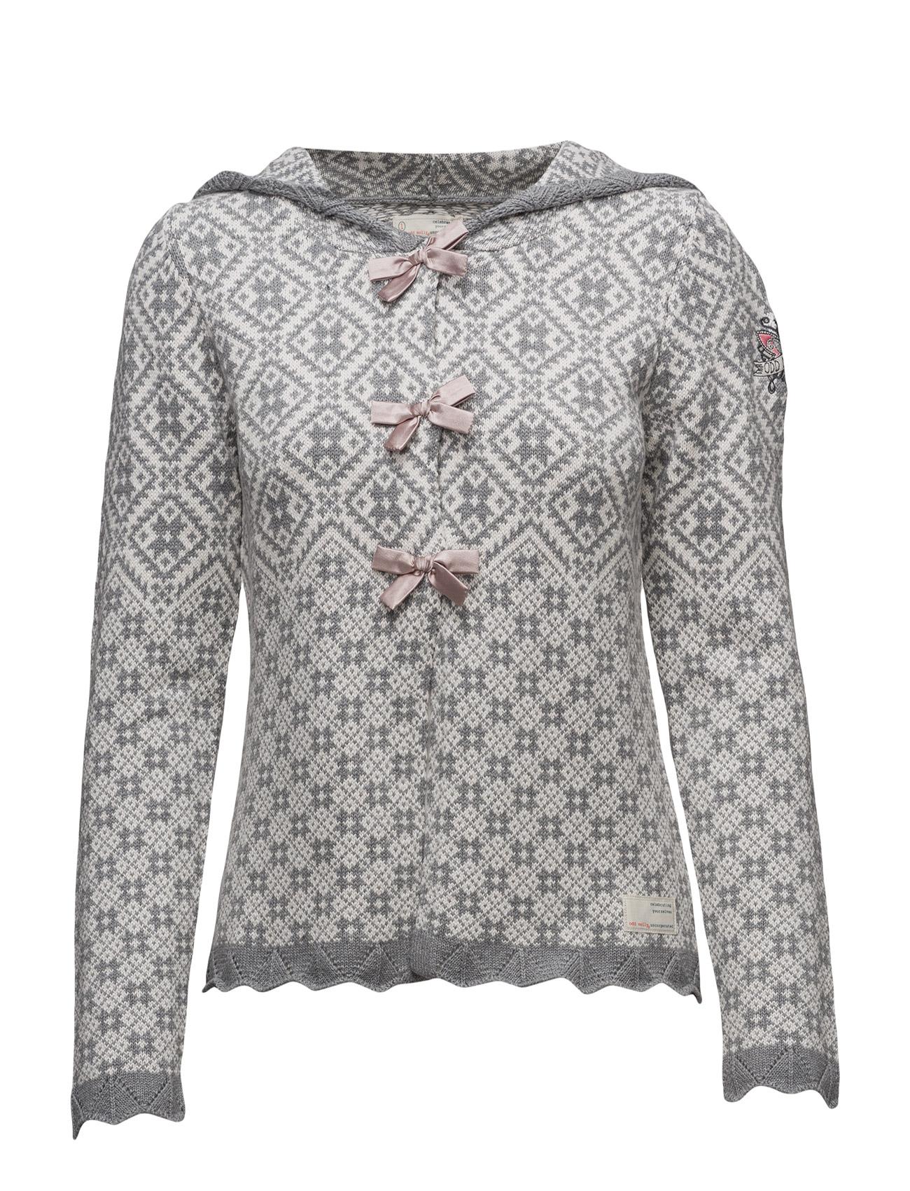 Le Knit Cardigan ODD MOLLY Cardigans til Damer i Grå