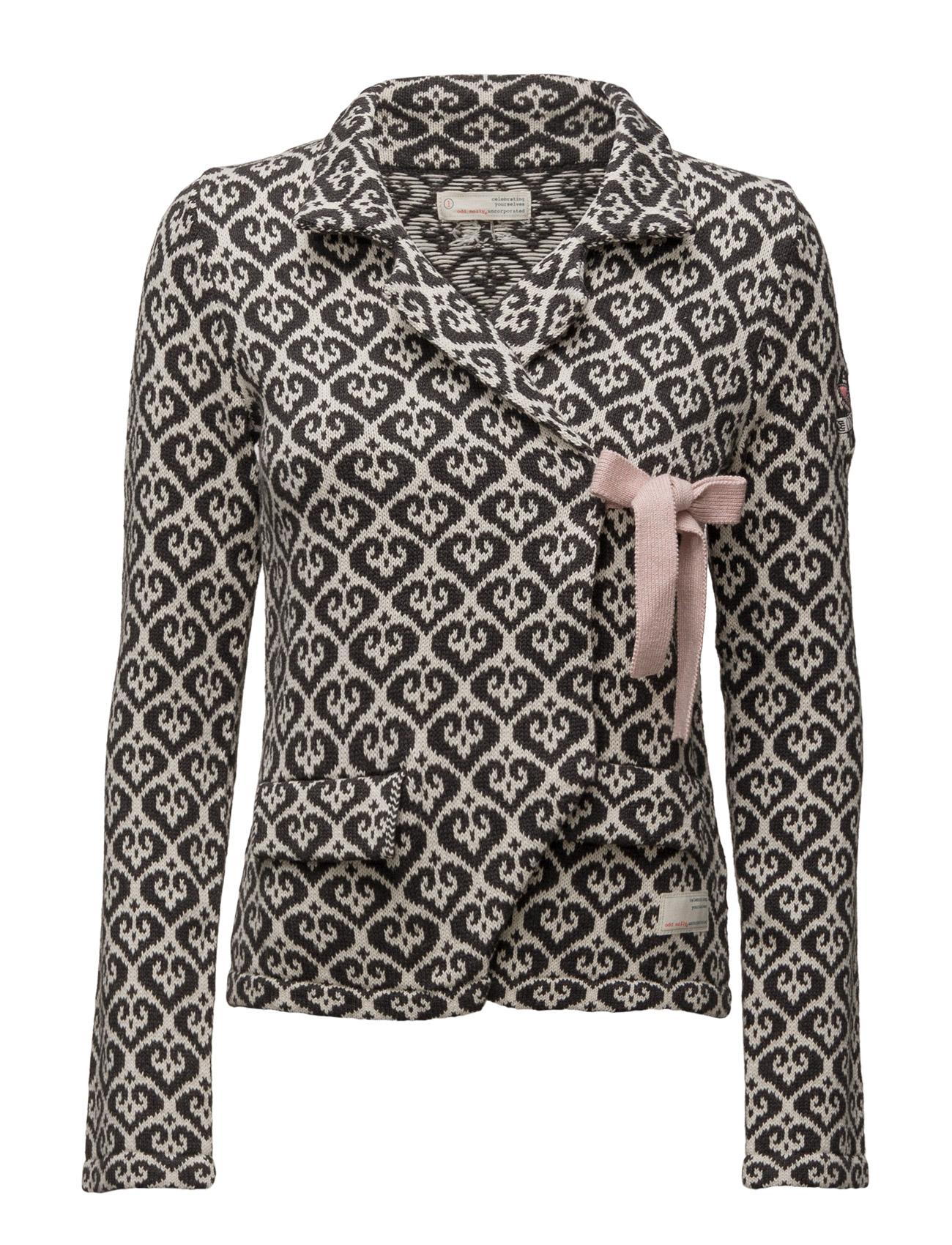 Lovely Knit Jacket ODD MOLLY Cardigans til Damer i Næsten Sort