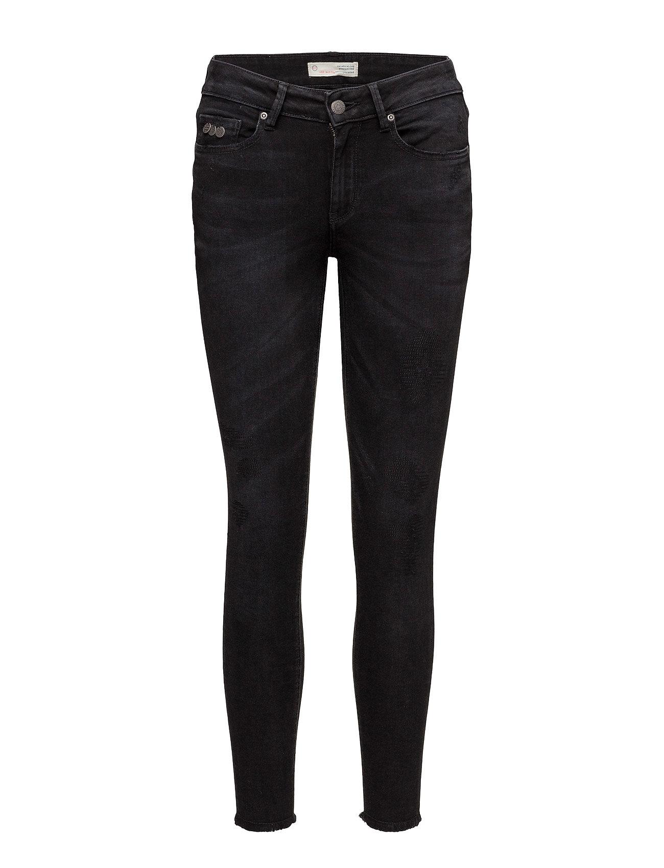 odd molly – Stretch black cropped jean fra boozt.com dk