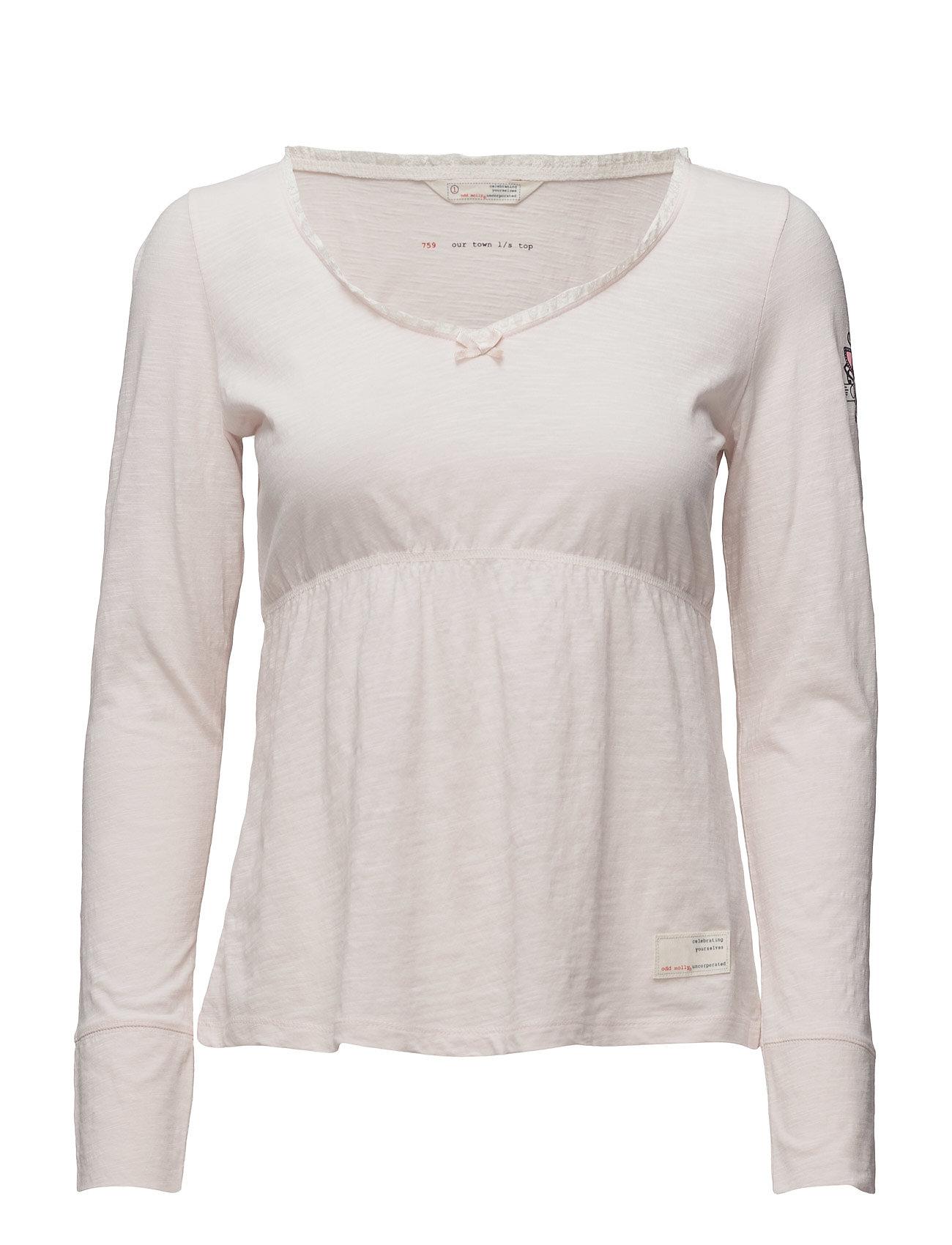 Our Town L/S Top ODD MOLLY T-shirts & toppe til Kvinder i