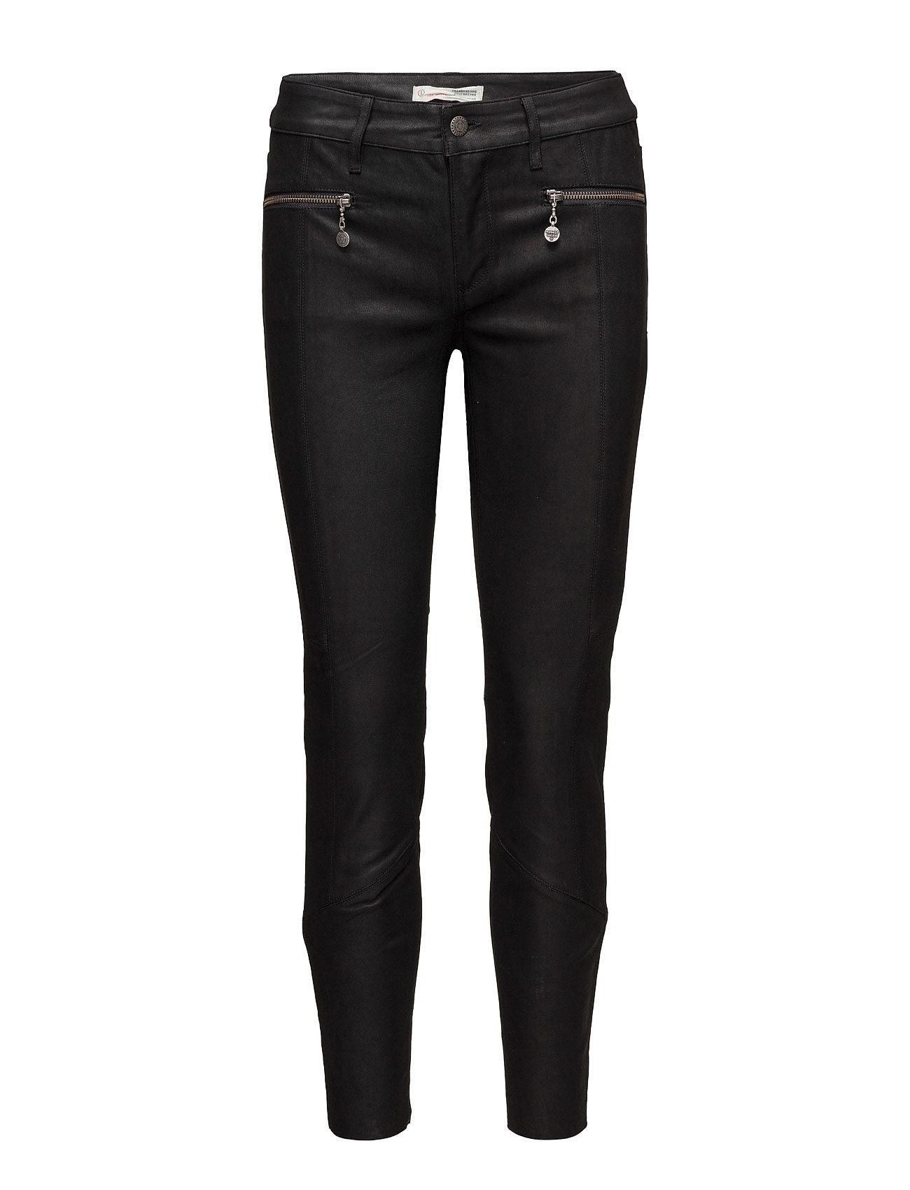 Eagle Rock Trousers ODD MOLLY Læder leggins & bukser til Kvinder i Næsten Sort