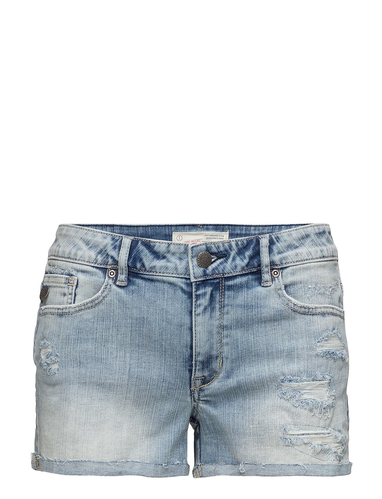 Loose It Jeans Shorts ODD MOLLY Denim til Damer i