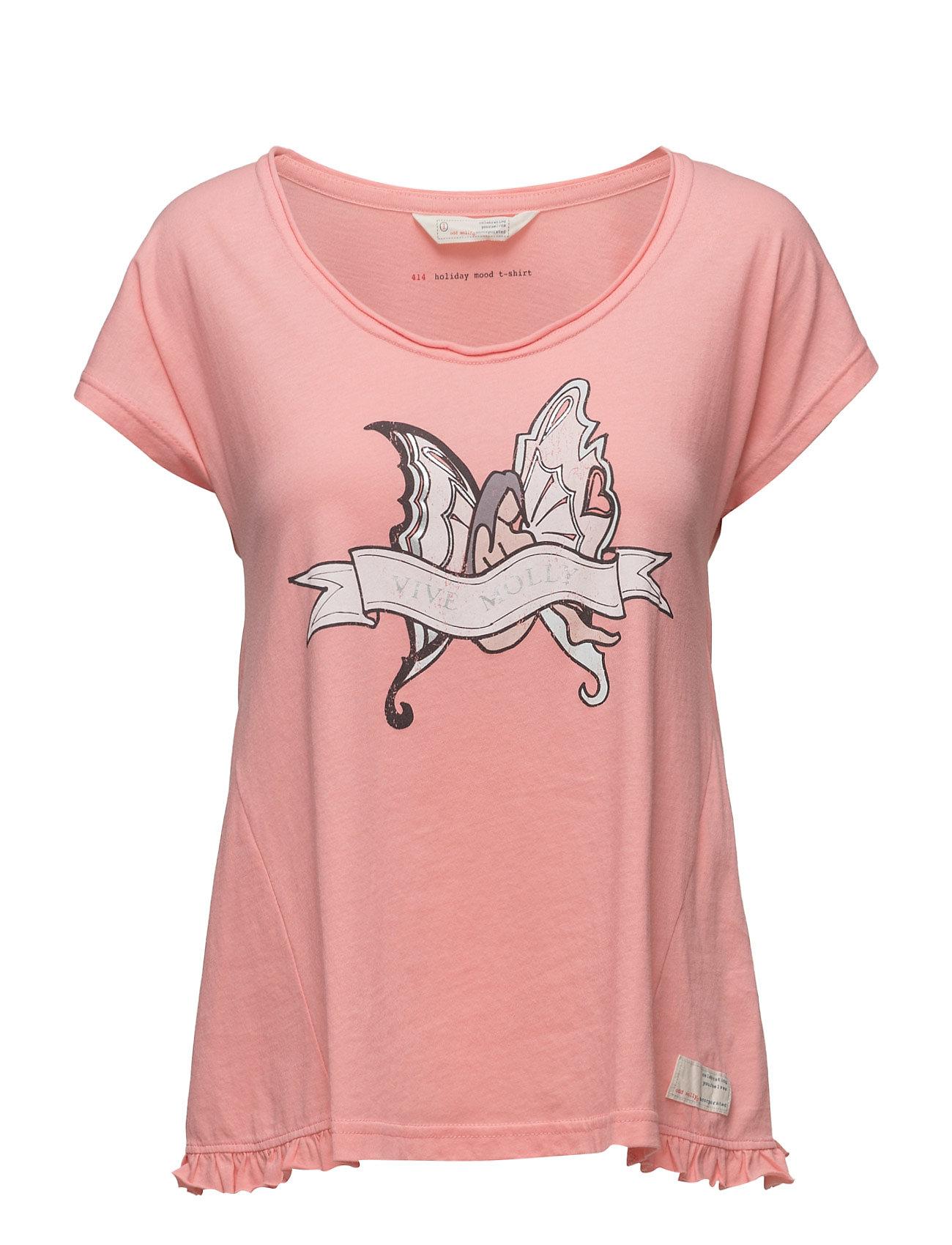 Holiday Mood T-Shirt ODD MOLLY T-shirts & toppe til Kvinder i