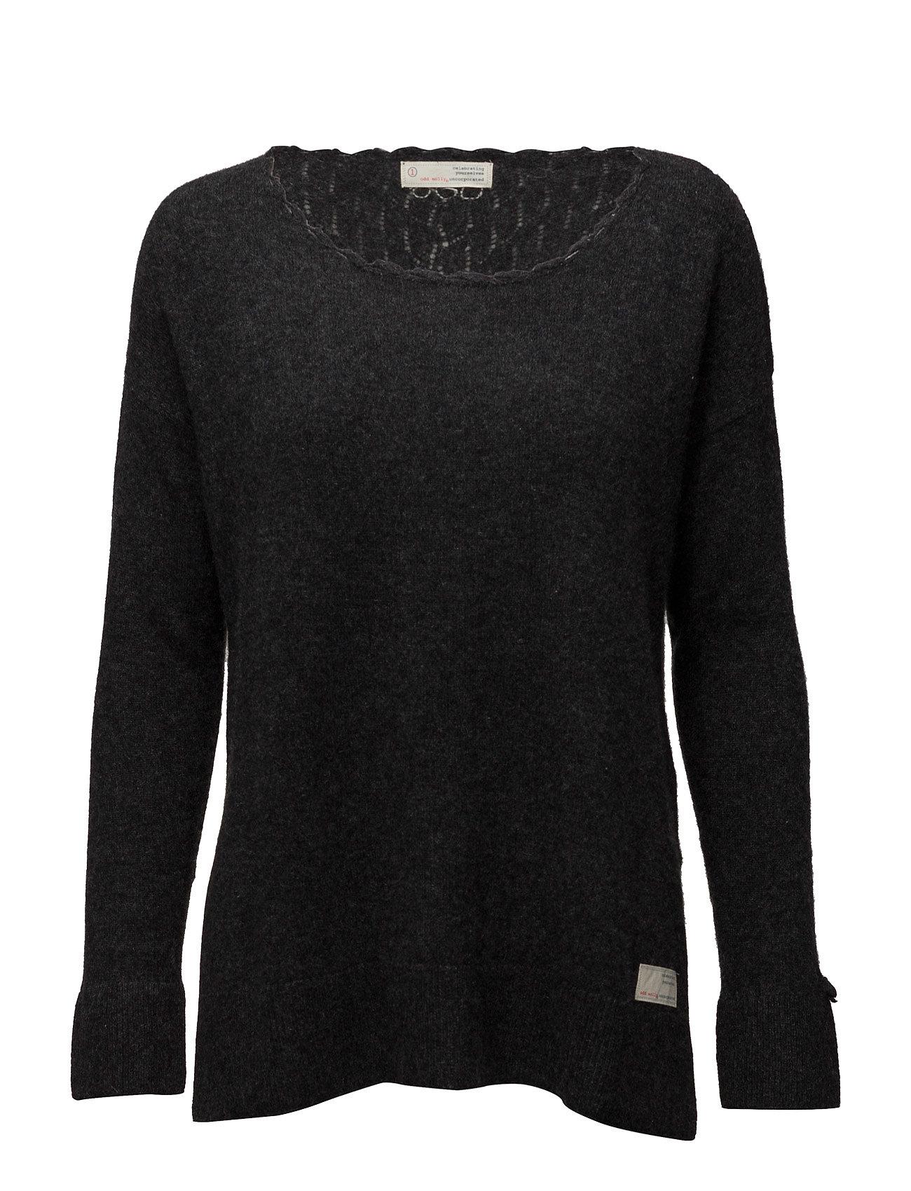 Wide Away Sweater ODD MOLLY Sweatshirts til Damer i Næsten Sort