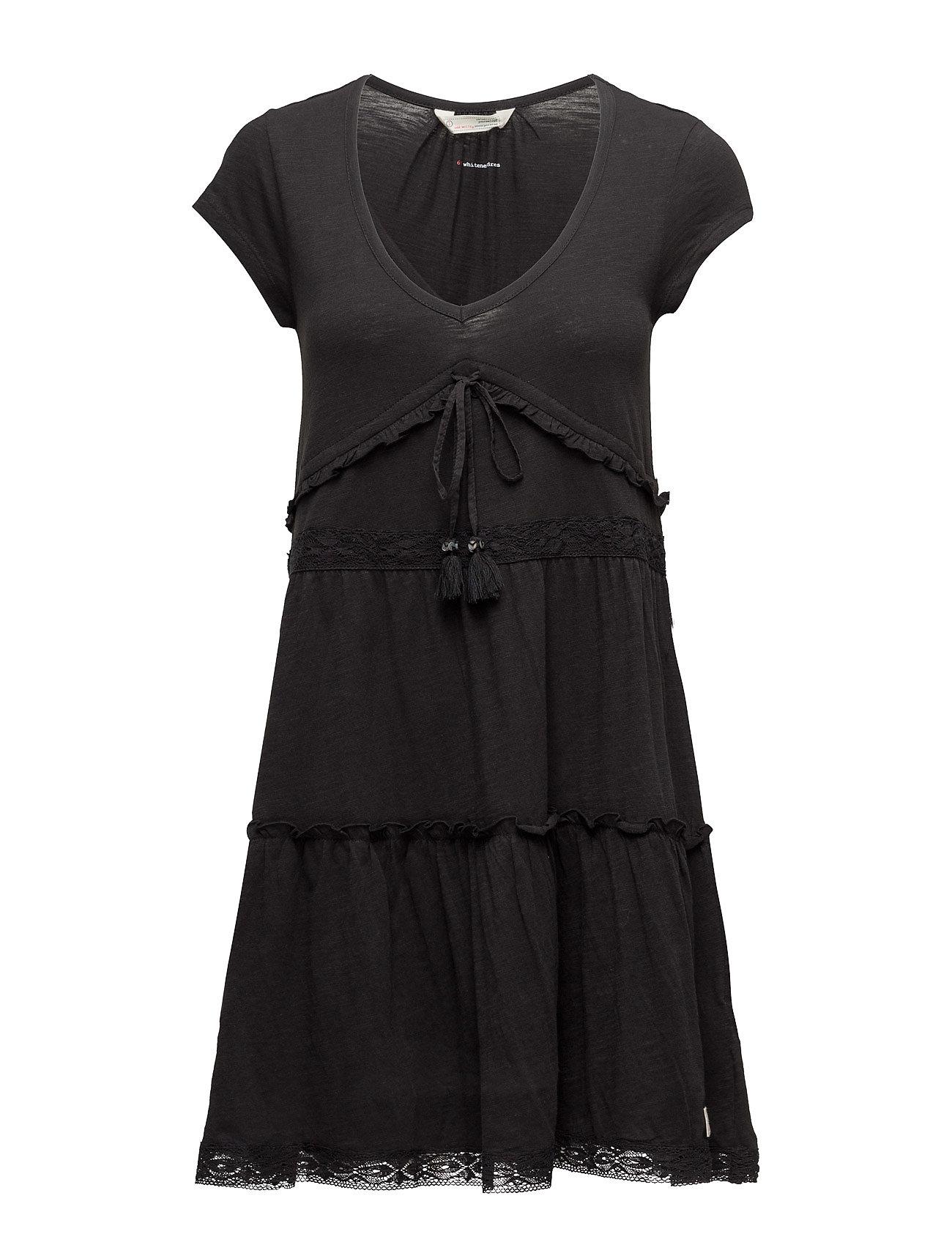 Whiteness Dress ODD MOLLY Korte kjoler til Damer i Næsten Sort