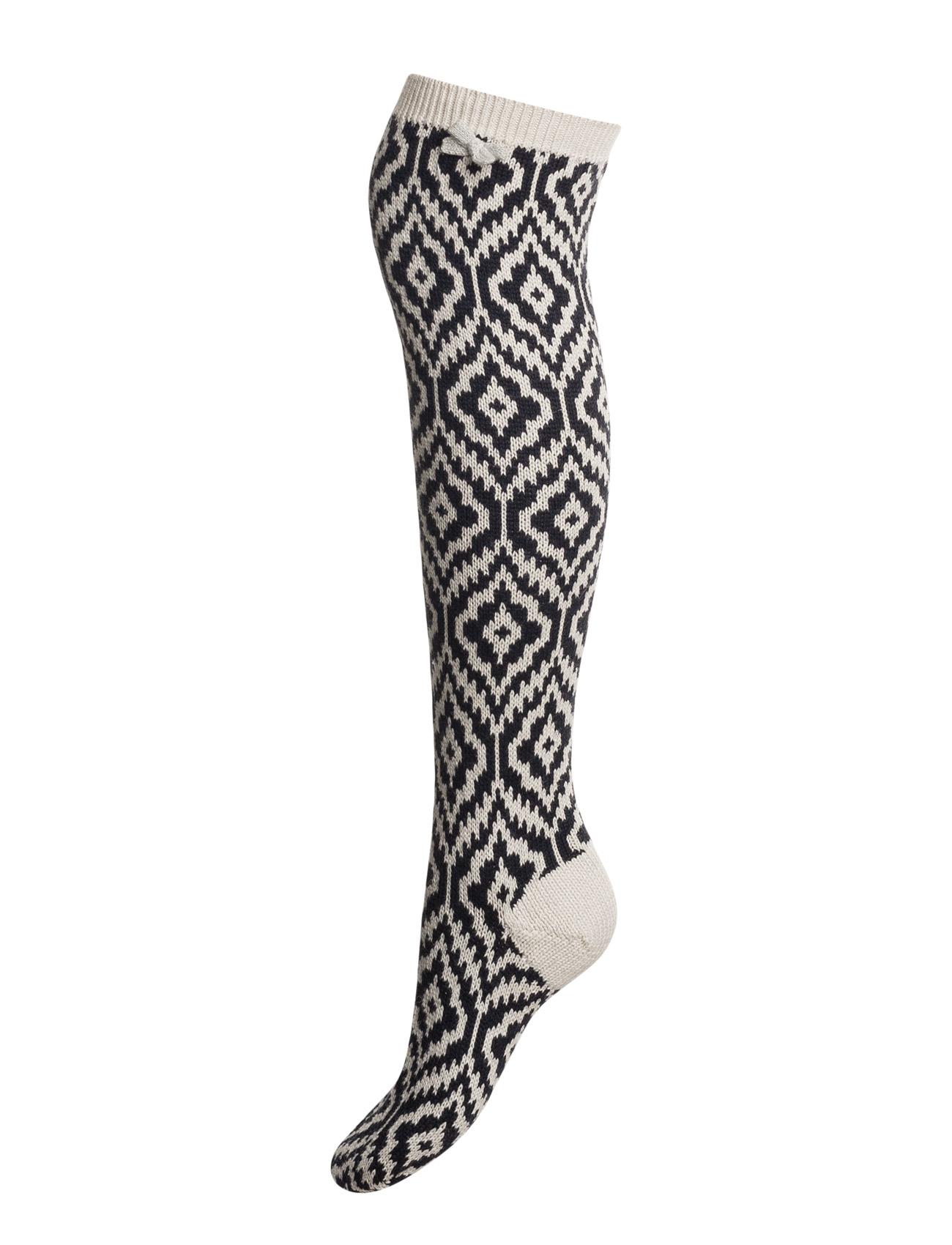 Girl Power Sock ODD MOLLY Strømpebukser til Kvinder i Mørk Navy