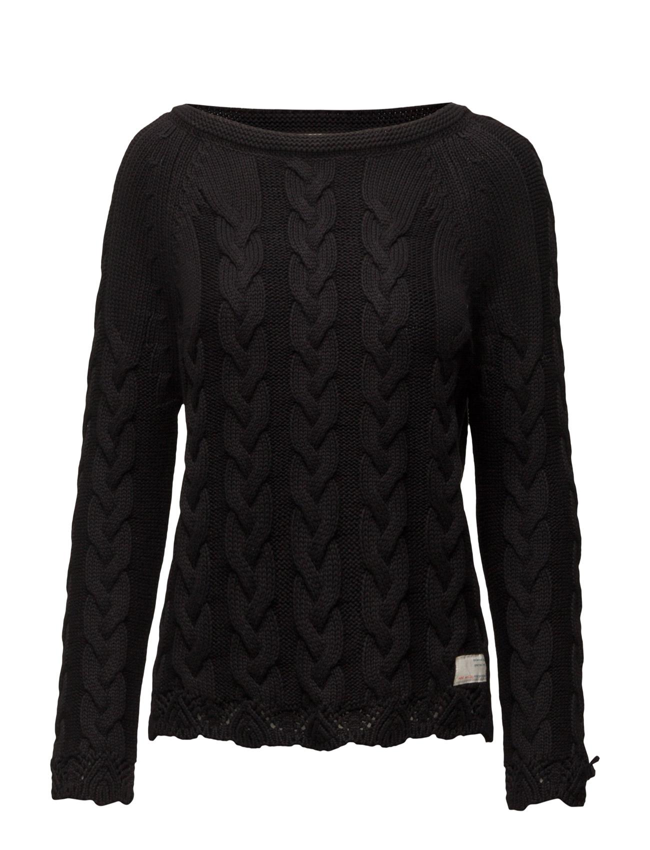 All Day Long Pullover ODD MOLLY Sweatshirts til Kvinder i Asfalt