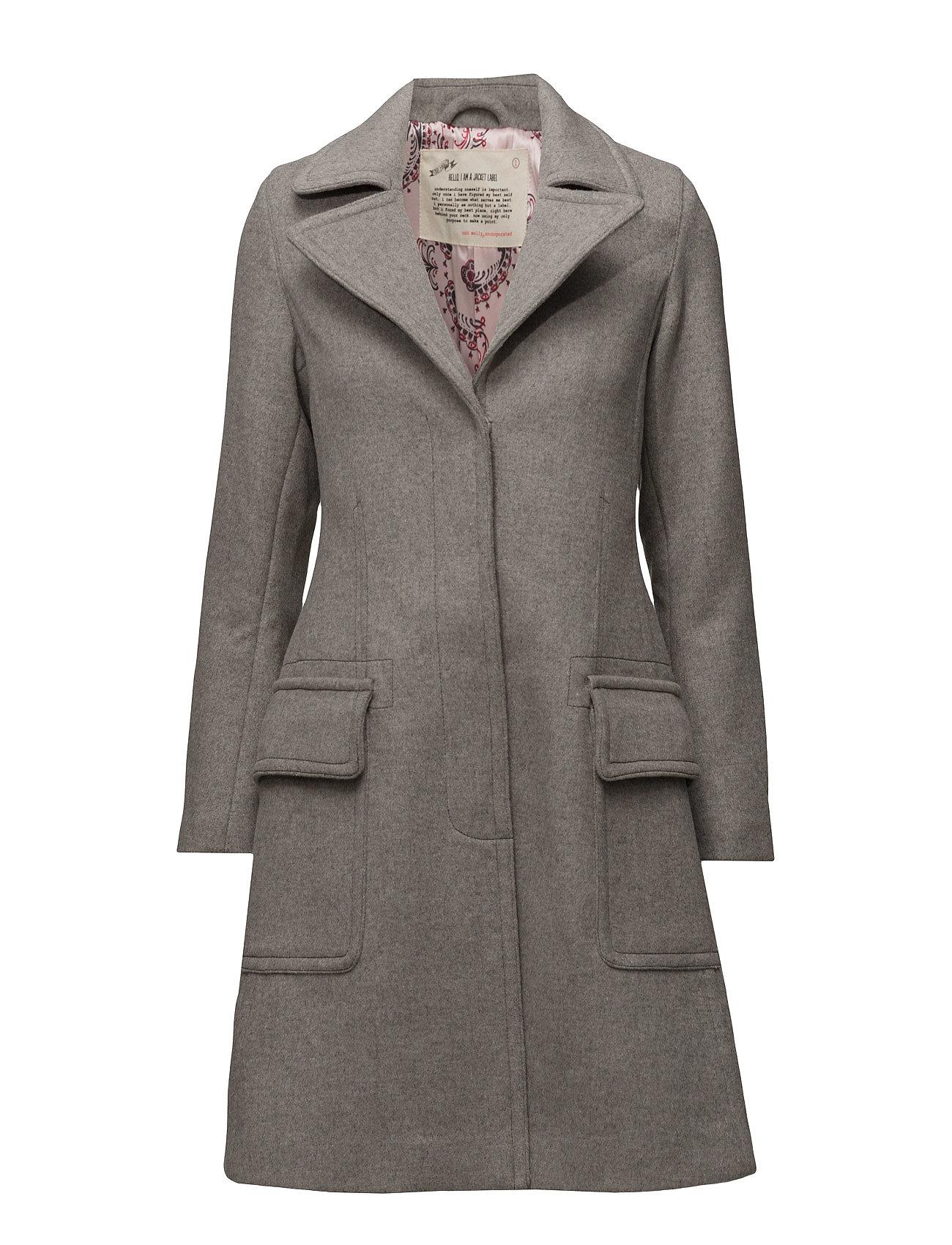 Wild Coat ODD MOLLY Frakker til Damer i Light Grey Melange