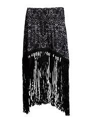 pasadena skirt - ALMOST BLACK