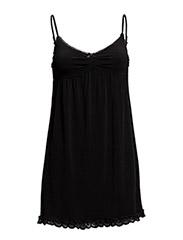 underbar slip dress - ALMOST BLACK