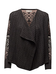 sparkling cardigan - ALMOST BLACK