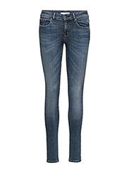 stretch it skinny-fit jean - MID BLUE