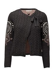 sparkling jacket - ALMOST BLACK