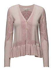 shepherd cardigan - SOFT ROSE