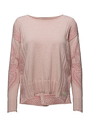 shepherd sweater - SOFT ROSE