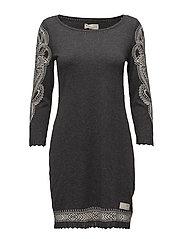 shepherd dress - ASPHALT