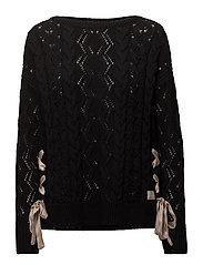 flurry sweater - ALMOST BLACK
