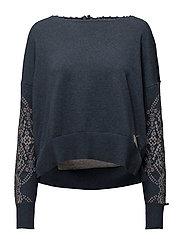 whirley sweater - NAVY