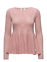 sunday drive sweater - BRIDAL ROSE