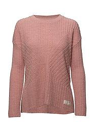retreat sweater - BRIDAL ROSE