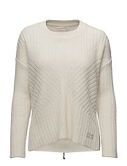 retreat sweater - LIGHT CHALK