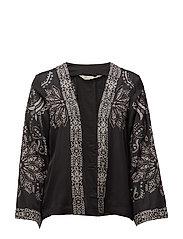 plume kimono - ASPHALT