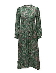 triumph long dress - GREEN