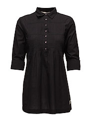 sensation tunic - ALMOST BLACK