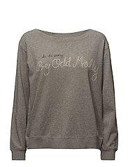 pleasant sweater - LIGHT GREY MELANGE