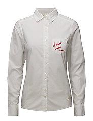 amusing shirt - BRIGHT WHITE
