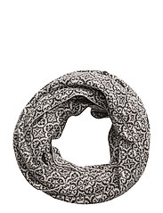 lovely tube scarf - ALMOST BLACK