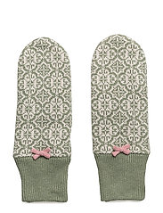 lovely mitten - MID GREEN