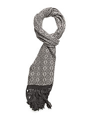 lovely scarf - ALMOST BLACK