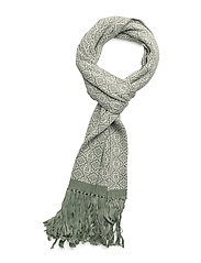 lovely scarf - MID GREEN