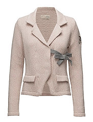 lovely knit jacket - PINK