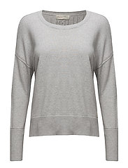 miss soft sweater - LIGHT GREY MELANGE
